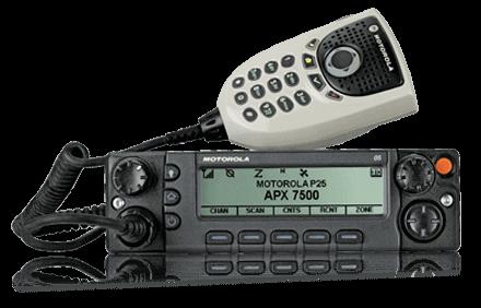 Motorola APX 7500 P25 Public Safety Mobile Radio Wireless Technology